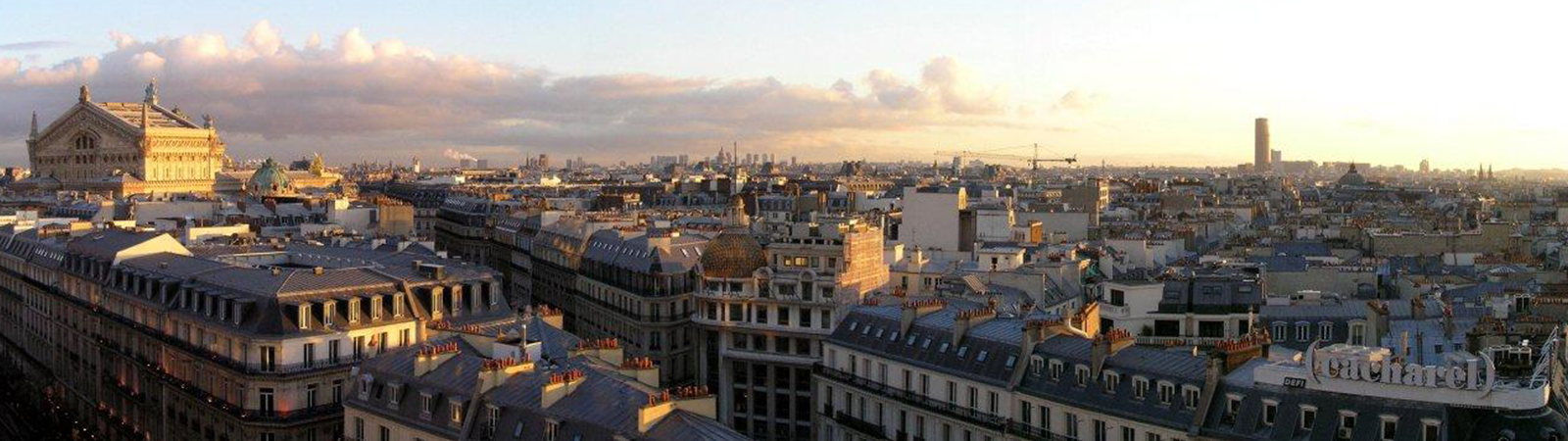 The Paris skyline without skyscrapers