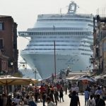 Venice and cruise ship